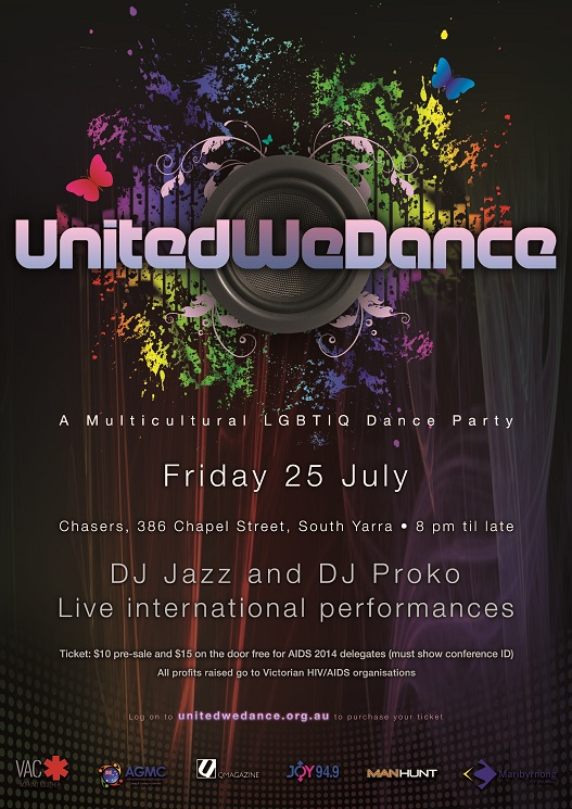 United We Dance poster 2014